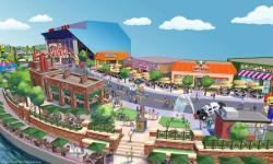 Il parco dei divertimenti dei Simpson ad Orlando in Florida