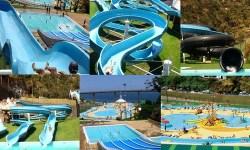 Parchi acquatici nell'isola di Madeira (Portogallo)