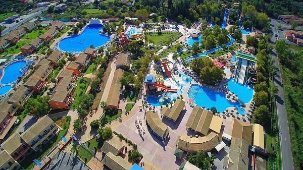 Aqualand a Corfu uno dei migliori parchi acquatici della Grecia