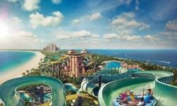 Il parco acquatico Aquaventure Waterpark Atlantis uno dei principali parchi divertimento a Dubai