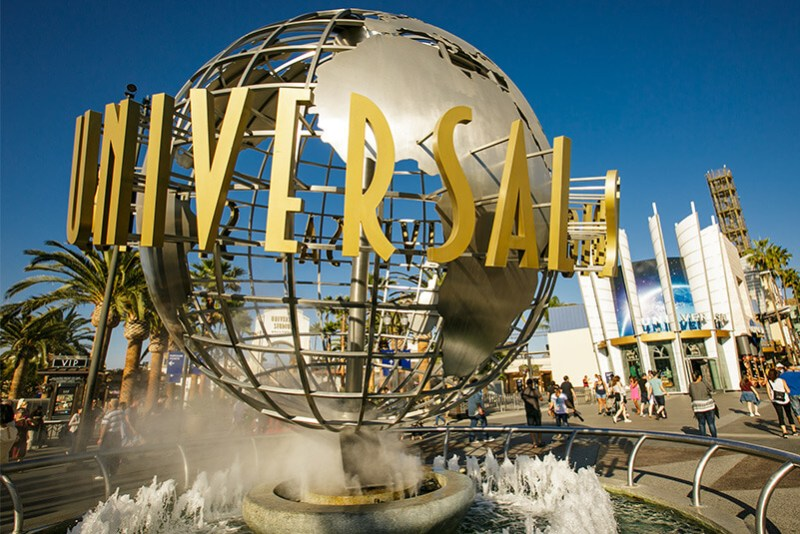 Universal Studios Hollywood a Los Angeles in California