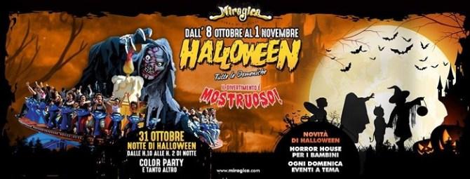 Prezzi, Orari ed Eventi Halloween 2017 Miragica
