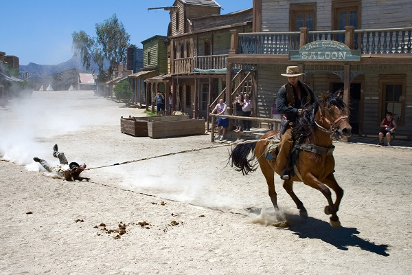 Il parco a tema western Fort Bravo / Texas Hollywood in Spagna