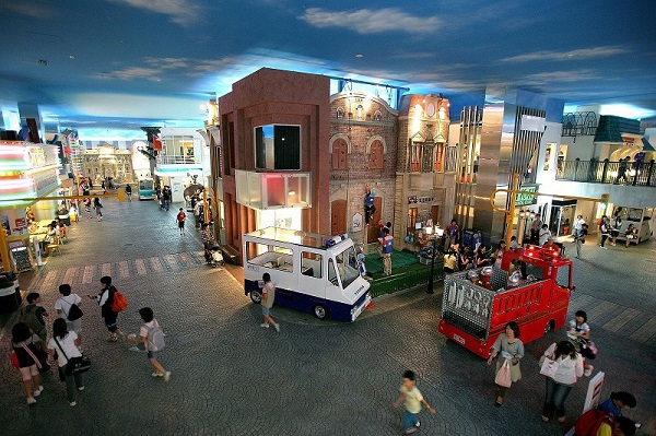 Parco per bambini Kidzania a Dubai