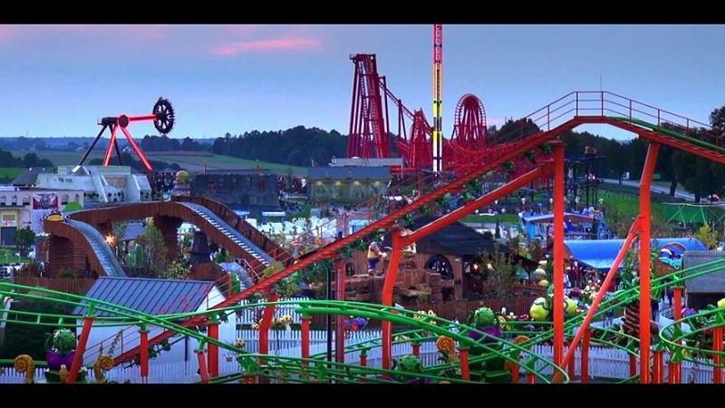 Il parco divertimenti Energylandia in Polonia