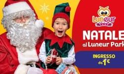 Natale 2020 al Luneur Park Roma: ingresso da soli 1€