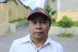Luis Fernando Baqueaza, líder indígena de Tagual La Po.