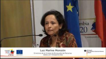 Luz Marina Monzon Unidad Busqueda Desaparecidos