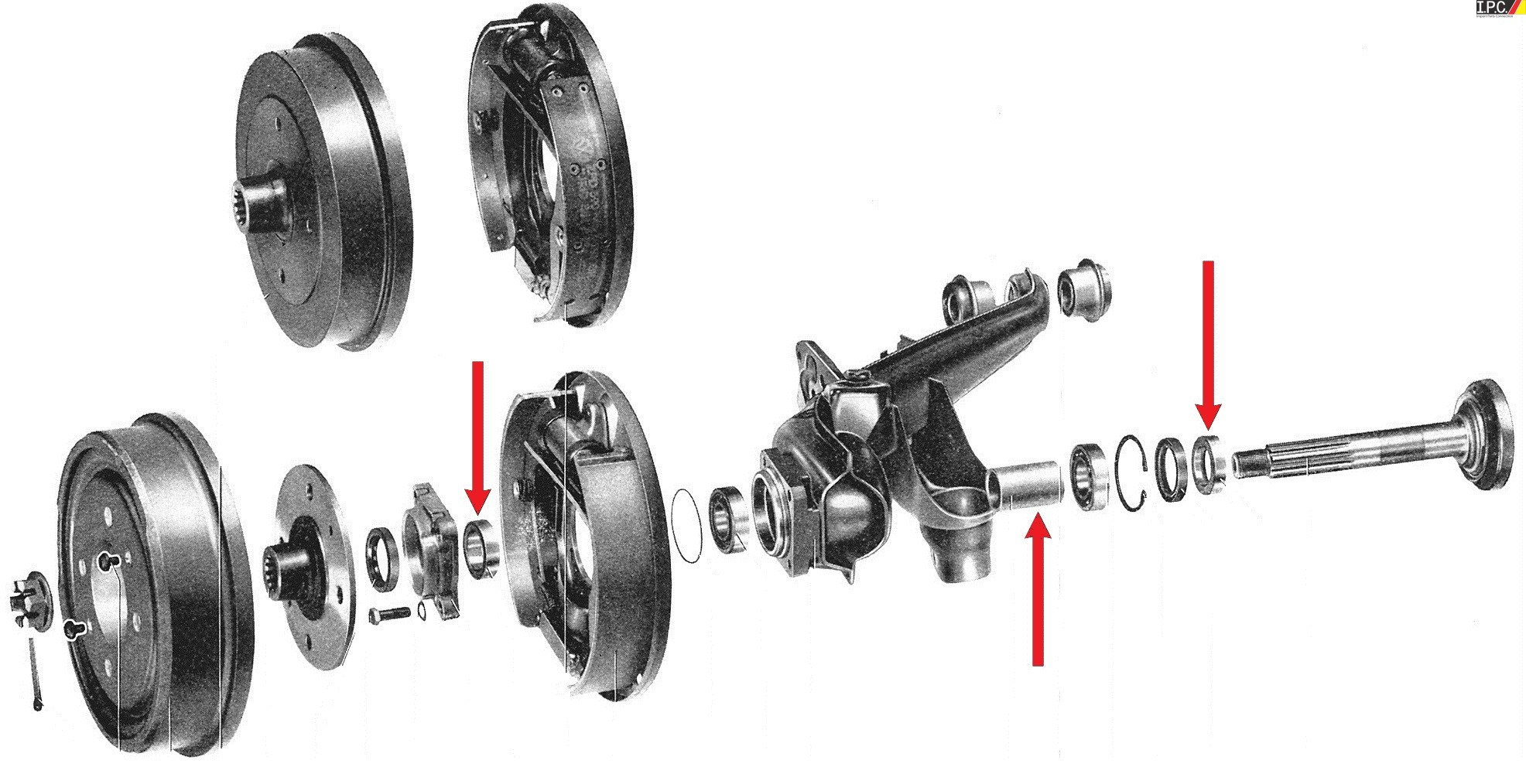 Empi High Performance Axle Spacer Kits I P C Vw Parts Vw