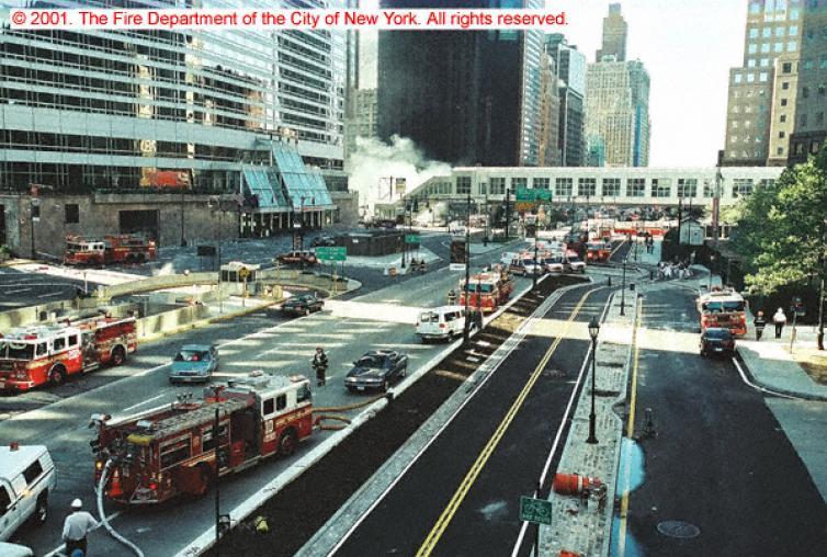 Unidades en el entorno del WTC
