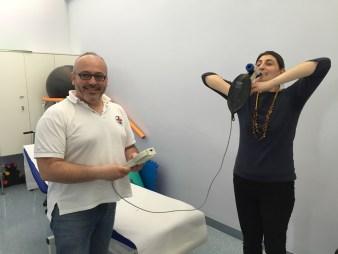 Gigliola e Marco al Centro iperbarico Ravenna