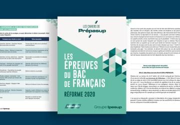 Le cahier Prépasup des épreuves du Bac de Français