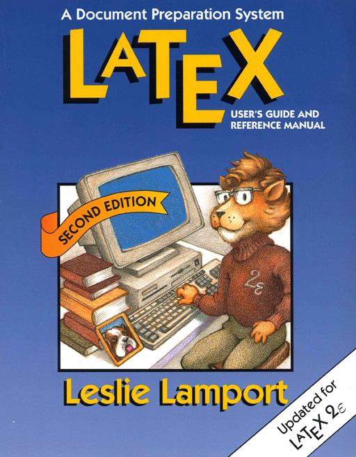 tapa de un libro de uno de los creadores del LaTeX