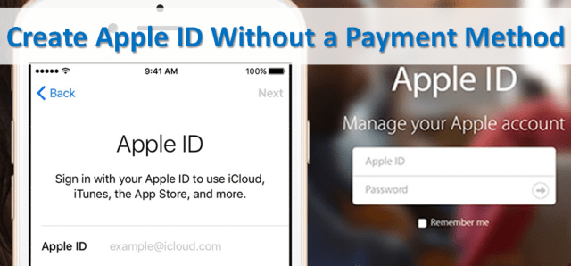 Create Apple ID Without Payment Method