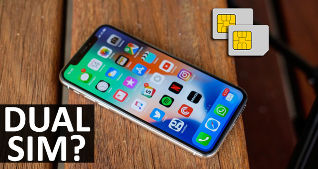 iPhone 2018 Dual SIM Rumors
