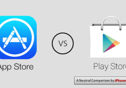 iPhone App Store vs Google Play Store