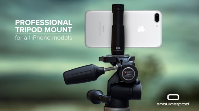 iPhone Tripod Mount Holder