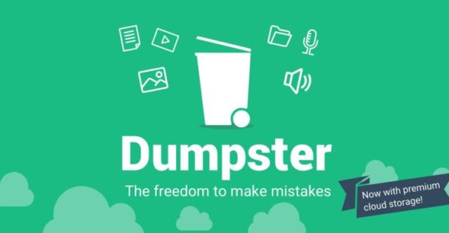 Dumpster Android Photos Backup Solution Undelete Photos