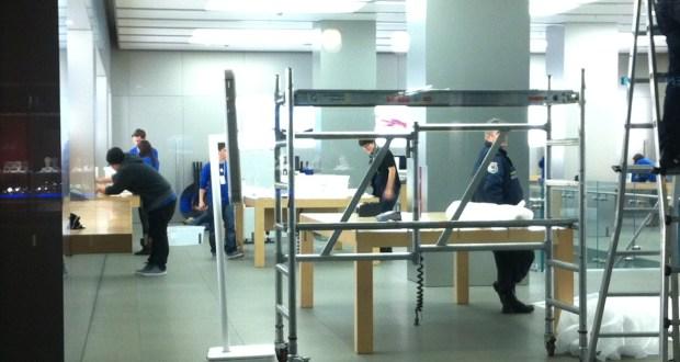 Geschlossen wegen Umbau: Apple Store Zürich