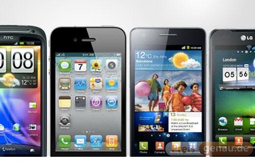 Schweiz: 2,9 Mio. Smartphones, 55% iPhones