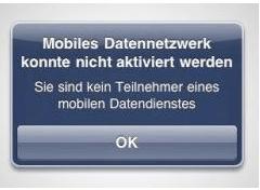 Internetprobleme beim neuen iPad