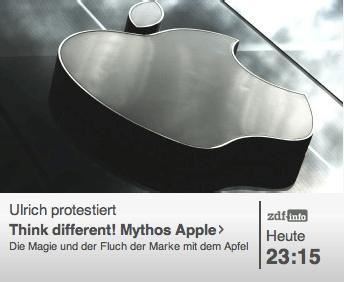 """Think different! Mythos Apple"" Doku auf ZDFinfo"