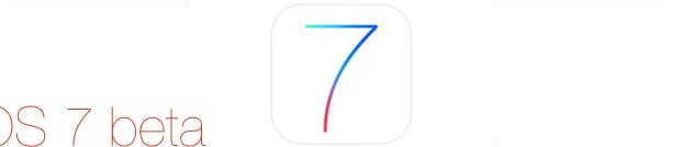 iOS 7 beta 3 für Entwickler iPhones und iPads bereit zum laden