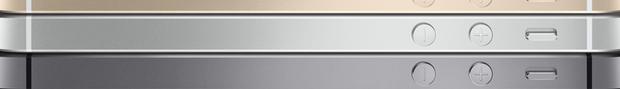 Apple wirbt für das iPhone 5s in Gold