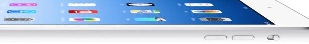 Das iPad Air ist dünner als ein Bleistift