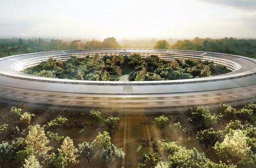 Gigantisch: Rundflug über den neuen Apple Campus