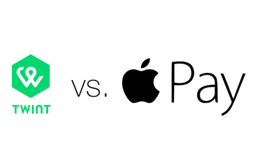 Umfrage: Twint oder Apple Pay