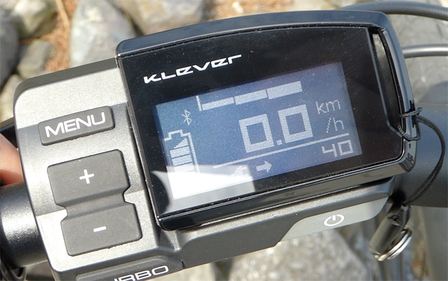 Klever Mobility XRAW Pedelec mit LCD-Display