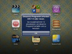 App bei älterer iOS Version neu installieren
