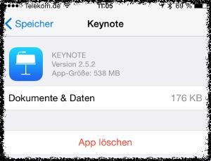 app-loeschen