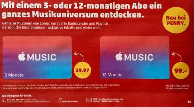 Apple Music Abo