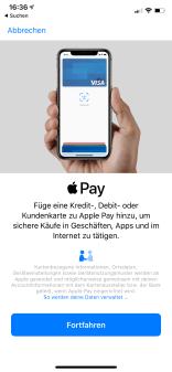 Apple Pay einrichten