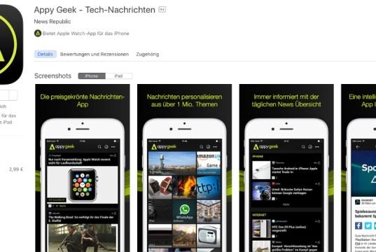Appy Geek Tech News