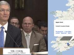 Tim Cook vor dem Untersuchungsausschuss (c) Screenshot PBS Video, Google Maps
