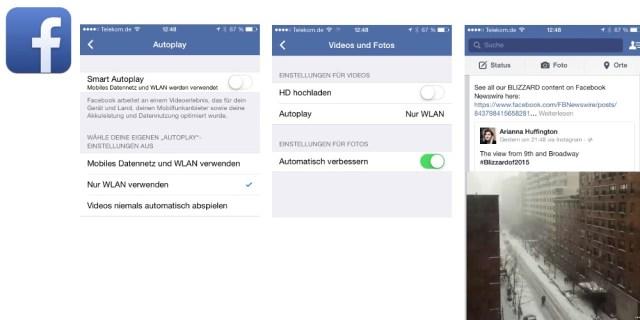 Facebook Videos Autoplay