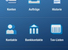 App iOutBank Pro in Version 2.7