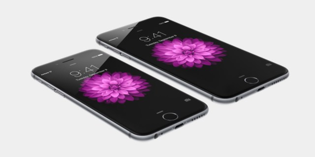 Apple zwei iPhone 6 Plus