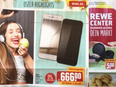 Rewe iPhone 7 Angebot