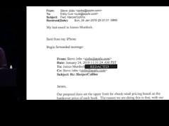 Absprachen zwischen Jobs und Murdoch? (c) Apple