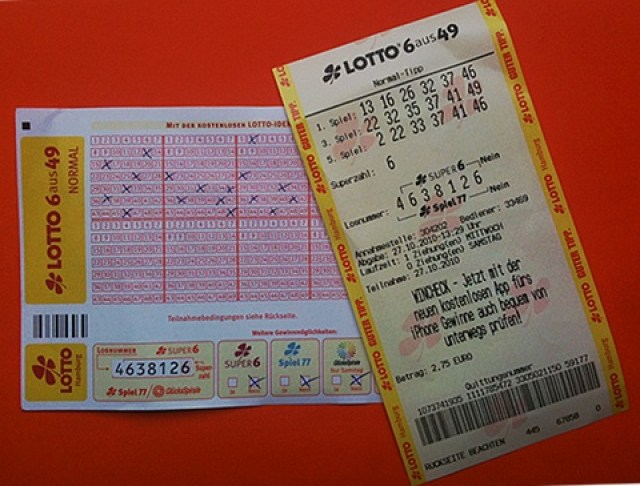lotto mit quittungsnummer