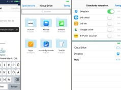 Mail Anhänge Foto Dateien iOS 9