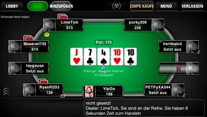Poker App Pokerstars