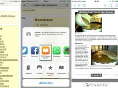 Safari Webseite als PDF speichern