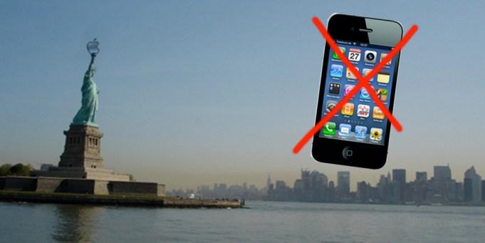 Apple droht eine Importverbot für die USA (c) Emma Richter