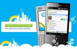 Bisland gibt es Skype nur für Windows Mobile, eine iPhone-Version soll folgen © Skype