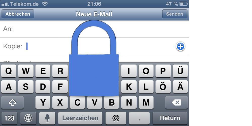 Mails auf dem iPhone per SMIME verschlüsseln und signieren